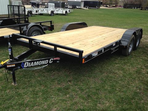 2018 Diamond C RC 7K CAR TRAILER in Elkhorn, Wisconsin