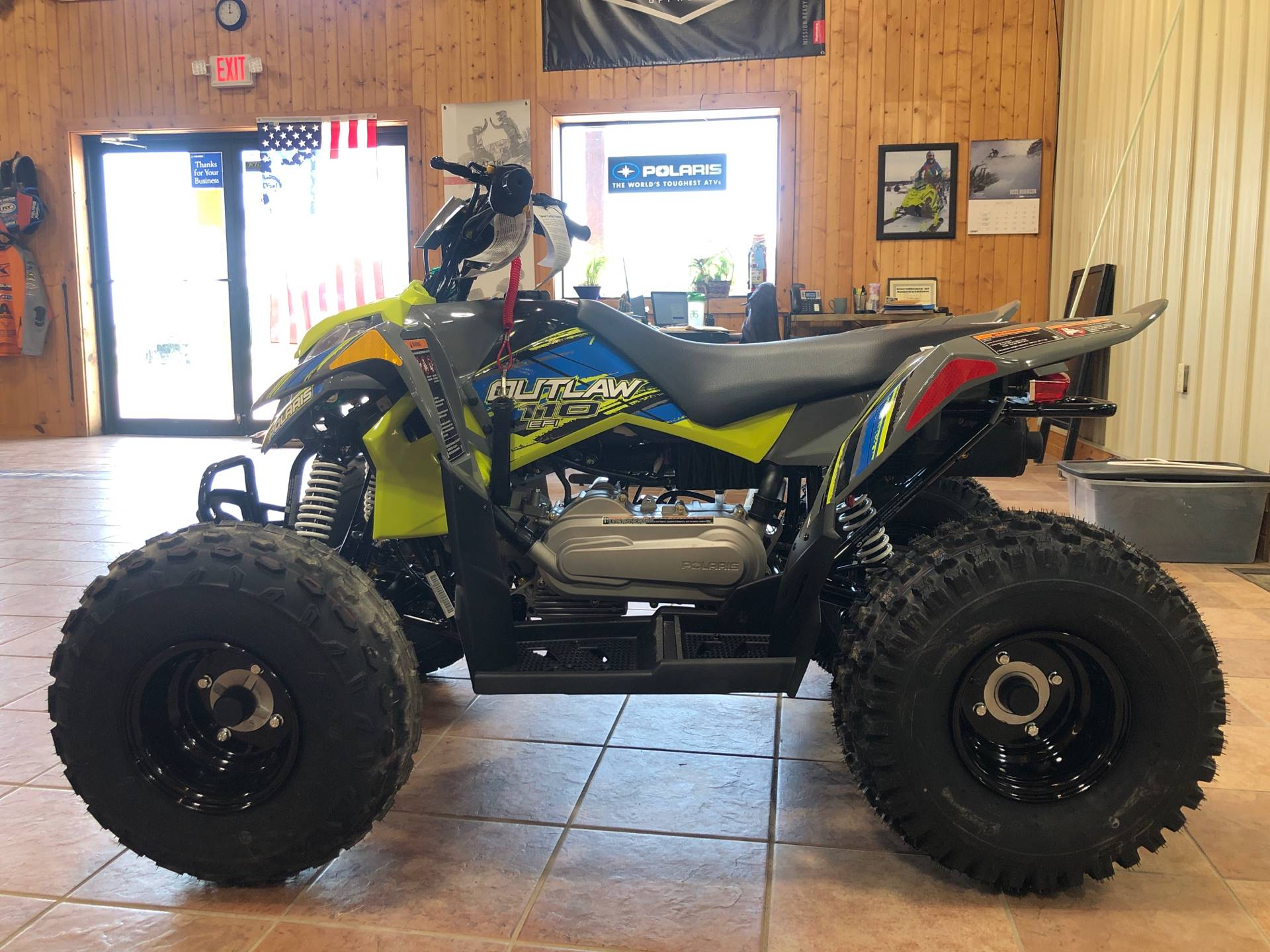 2020 Polaris Outlaw 110 in Elkhorn, Wisconsin - Photo 2