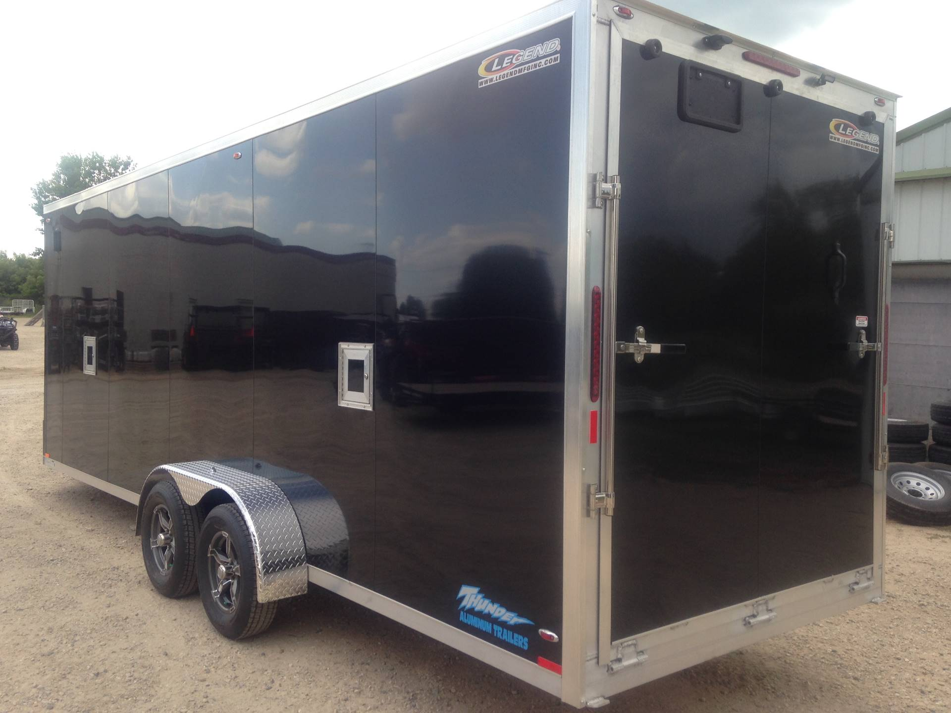 2019 Legend Trailers 7X27 THUNDER TOY ENCL in Elkhorn, Wisconsin - Photo 3