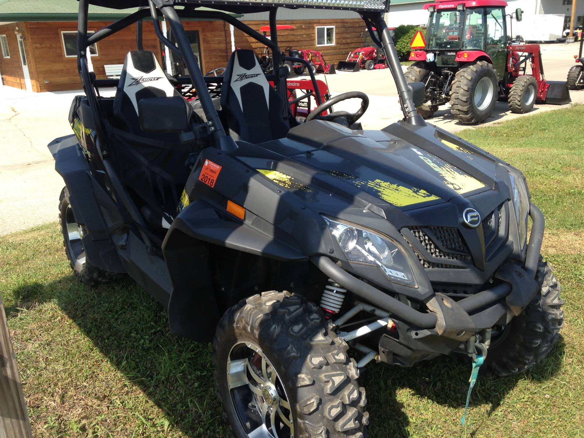 2016 CFMOTO ZForce 500 in Elkhorn, Wisconsin