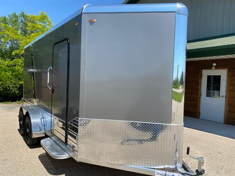 2021 Legend Trailers 7X17DVN DELUXE V-NOSE in Elkhorn, Wisconsin - Photo 1