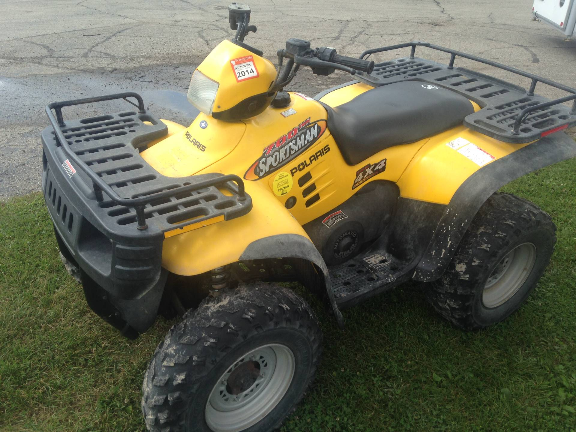 2002 Sportsman 700 Twin