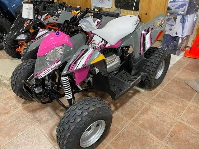 2021 Polaris Outlaw 110 EFI in Elkhorn, Wisconsin - Photo 2