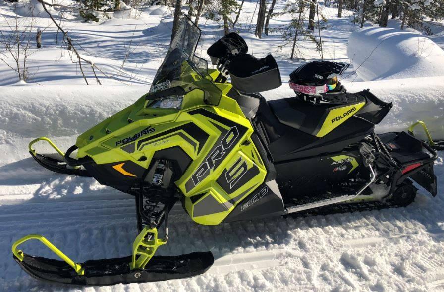 2018 600 RUSH PRO-S SnowCheck Select 1.35