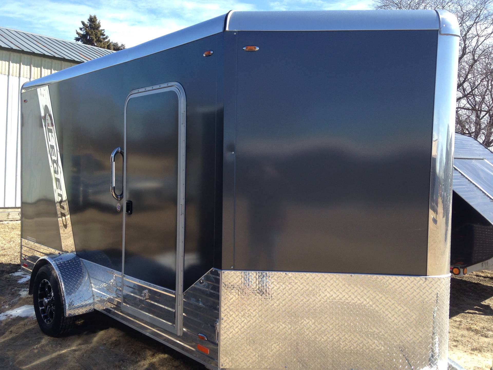 2018 Legend Trailers 715DVNSA30 ENCLOSED in Elkhorn, Wisconsin