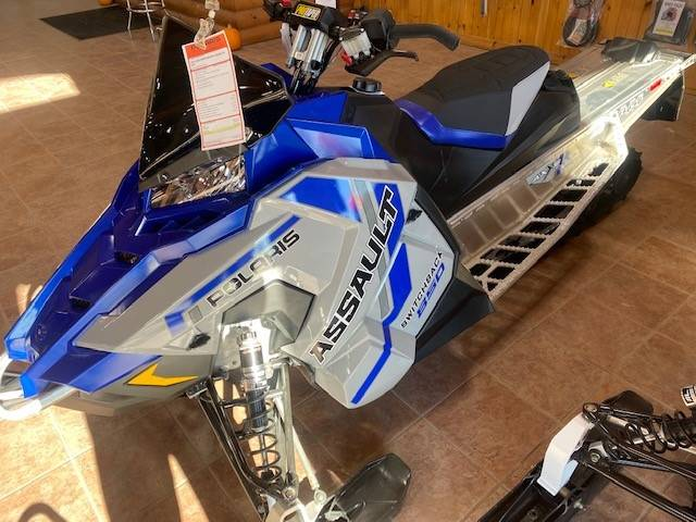 2021 Polaris 850 Switchback Assault 144 Factory Choice in Elkhorn, Wisconsin - Photo 1