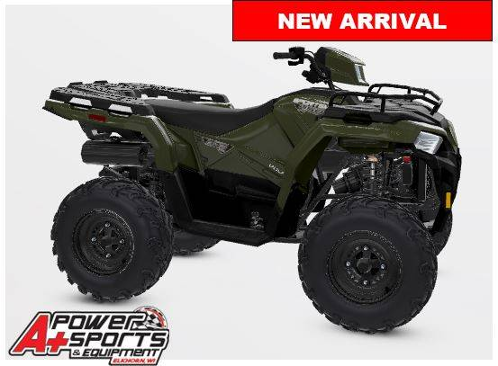 2021 Polaris Sportsman 450 H.O. Utility Package in Elkhorn, Wisconsin - Photo 1