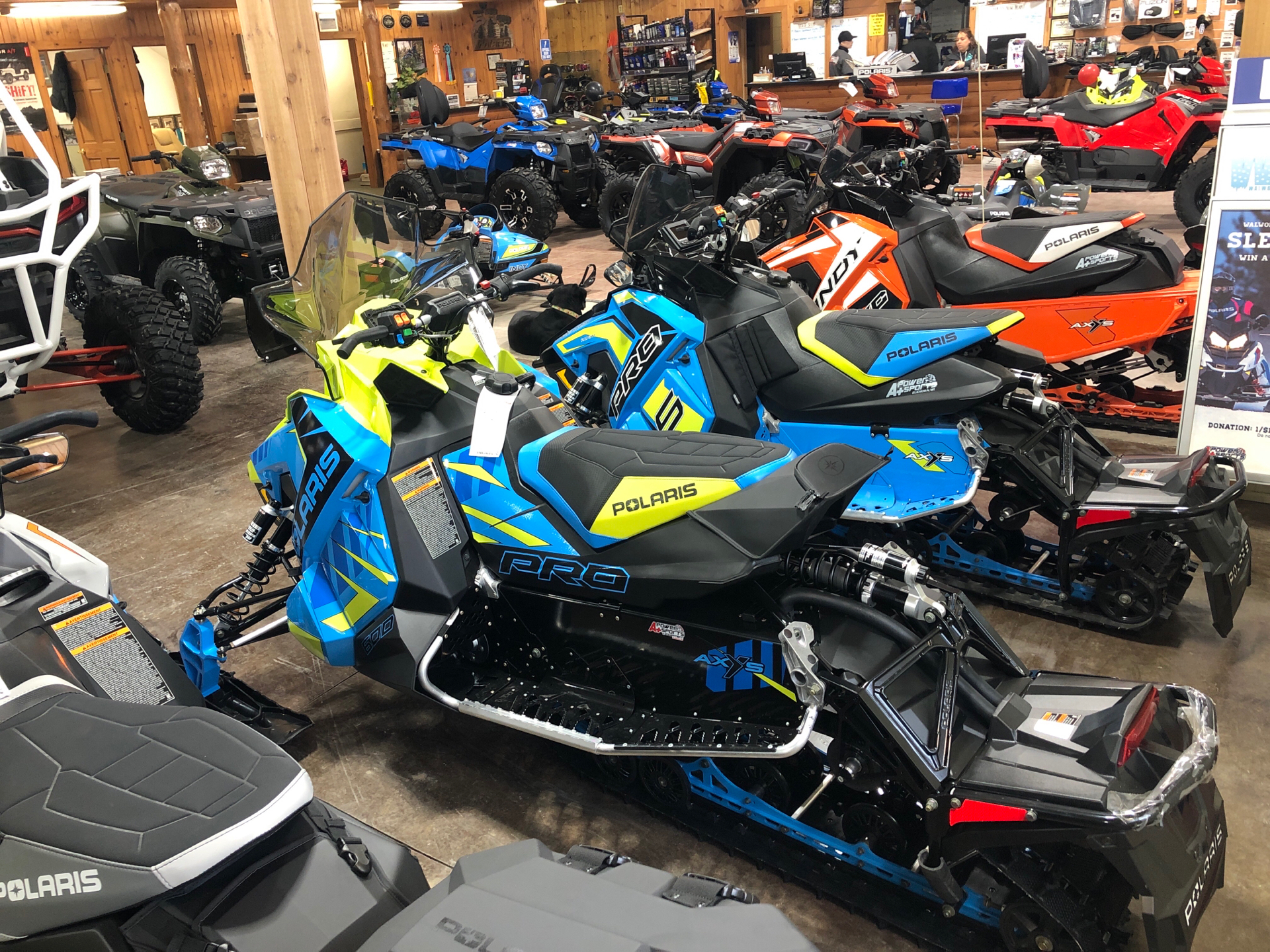 2020 Polaris 600 Switchback PRO-S SC in Elkhorn, Wisconsin - Photo 4