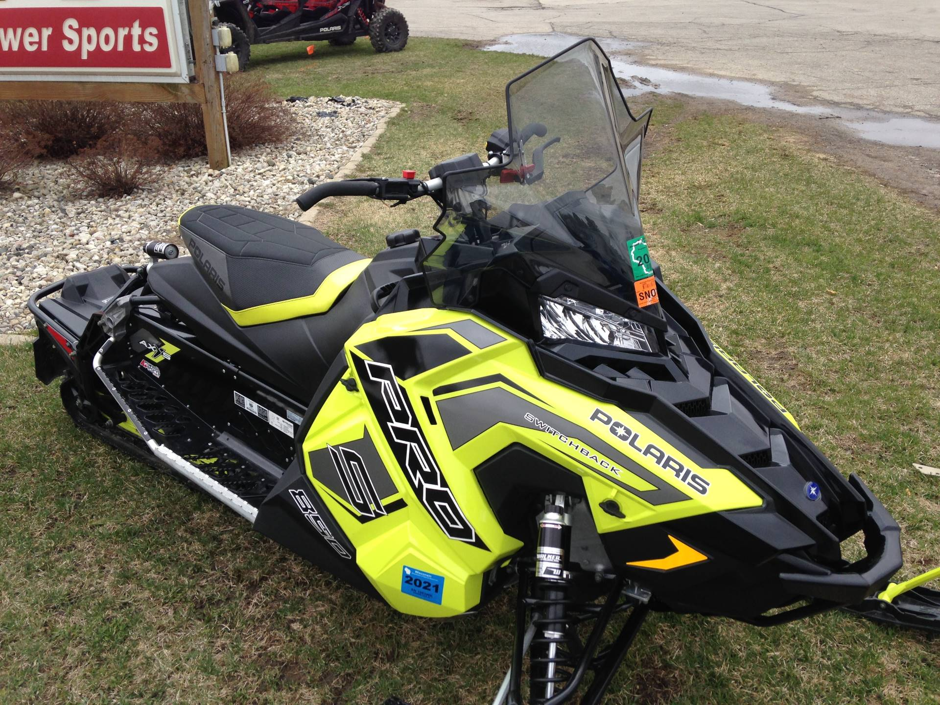 2019 Polaris 850 Switchback Pro-S SnowCheck Select in Elkhorn, Wisconsin - Photo 1