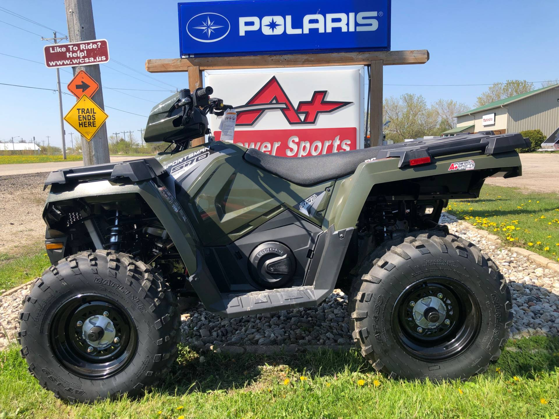 2019 Polaris Sportsman 570 EPS in Elkhorn, Wisconsin - Photo 1