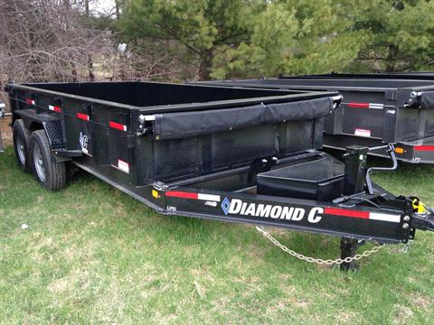 2019 Diamond C LPD207L 14X82 14K DUMP in Elkhorn, Wisconsin