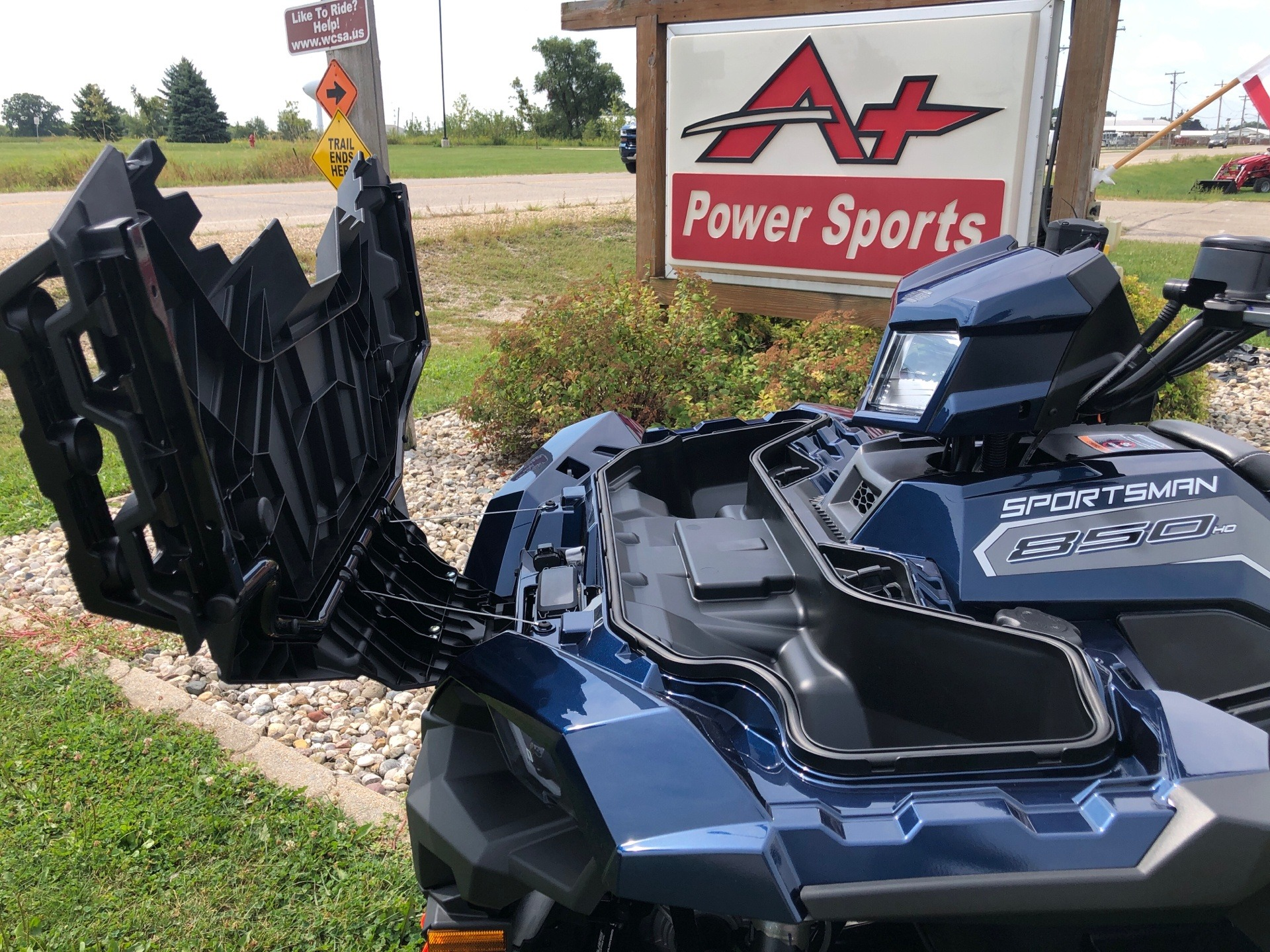 2020 Polaris Sportsman 850 Premium Trail Package in Elkhorn, Wisconsin - Photo 6