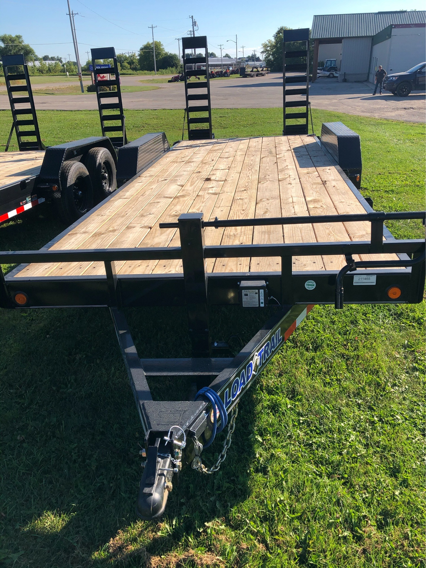 2020 Load Trail 83x20 14K EQUIP -BLACK in Elkhorn, Wisconsin - Photo 1