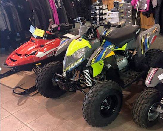 2019 Polaris Outlaw 110 in Elkhorn, Wisconsin - Photo 1