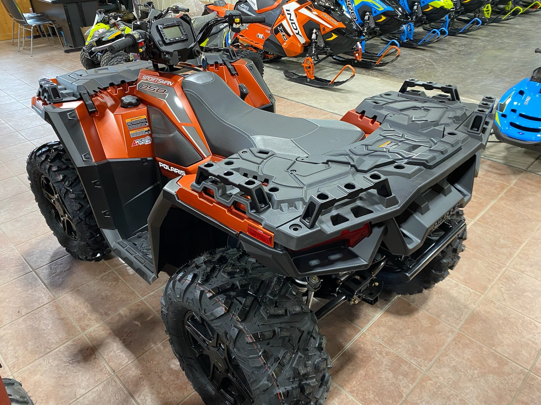 2020 Polaris Sportsman 850 Premium Trail Package in Elkhorn, Wisconsin - Photo 3