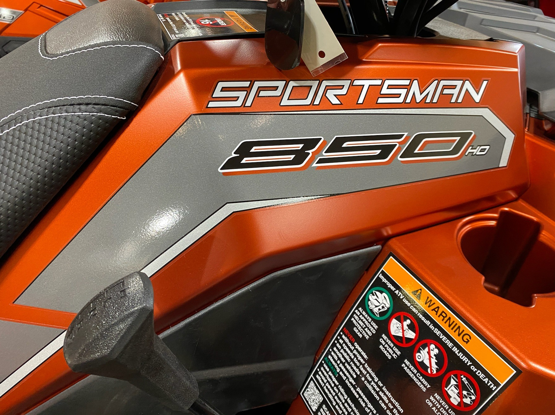 2020 Polaris Sportsman 850 Premium Trail Package in Elkhorn, Wisconsin - Photo 5