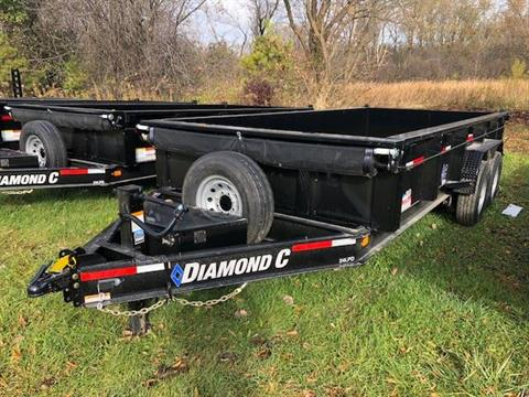 2019 Diamond C 24LPD 16X82 14K DUMP in Elkhorn, Wisconsin