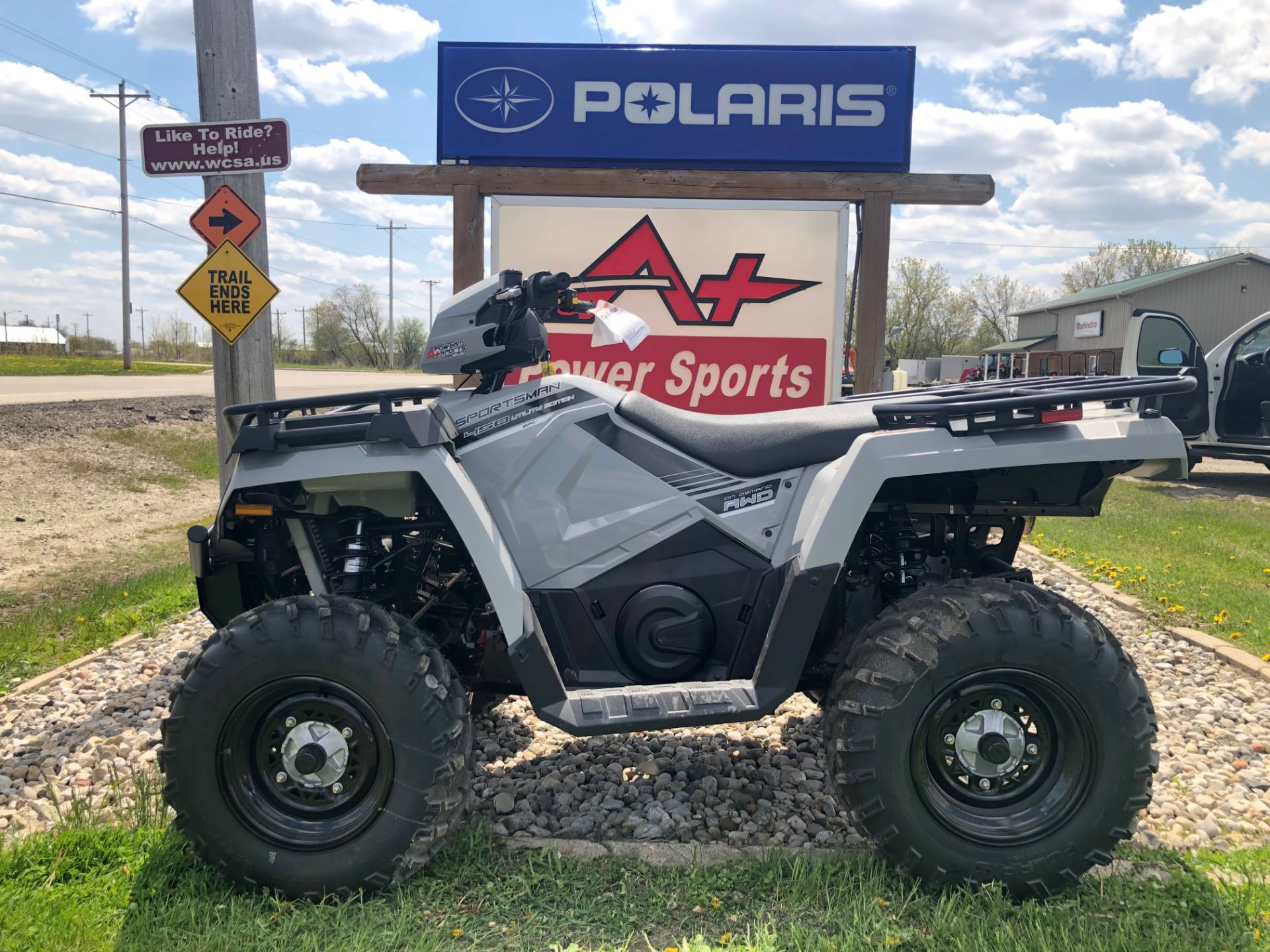 2019 Polaris Sportsman 450 H.O. Utility Edition in Elkhorn, Wisconsin - Photo 1