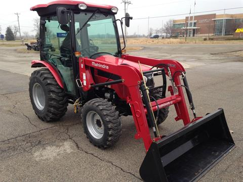 2016 Mahindra 2538 4WD HST Cab in Elkhorn, Wisconsin