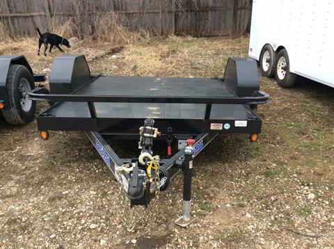 2017 Load Trail 77X10 SCISSOR HAULER in Elkhorn, Wisconsin