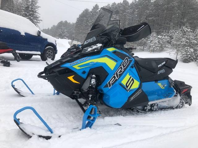 2019 Polaris 600 RUSH PRO-S 1.25 RIPSAW II SnowCheck Select in Elkhorn, Wisconsin - Photo 8