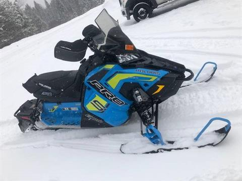 2019 Polaris 600 RUSH PRO-S 1.25 RIPSAW II SnowCheck Select in Elkhorn, Wisconsin - Photo 1