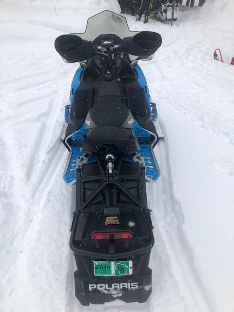 2019 Polaris 600 RUSH PRO-S 1.25 RIPSAW II SnowCheck Select in Elkhorn, Wisconsin - Photo 10