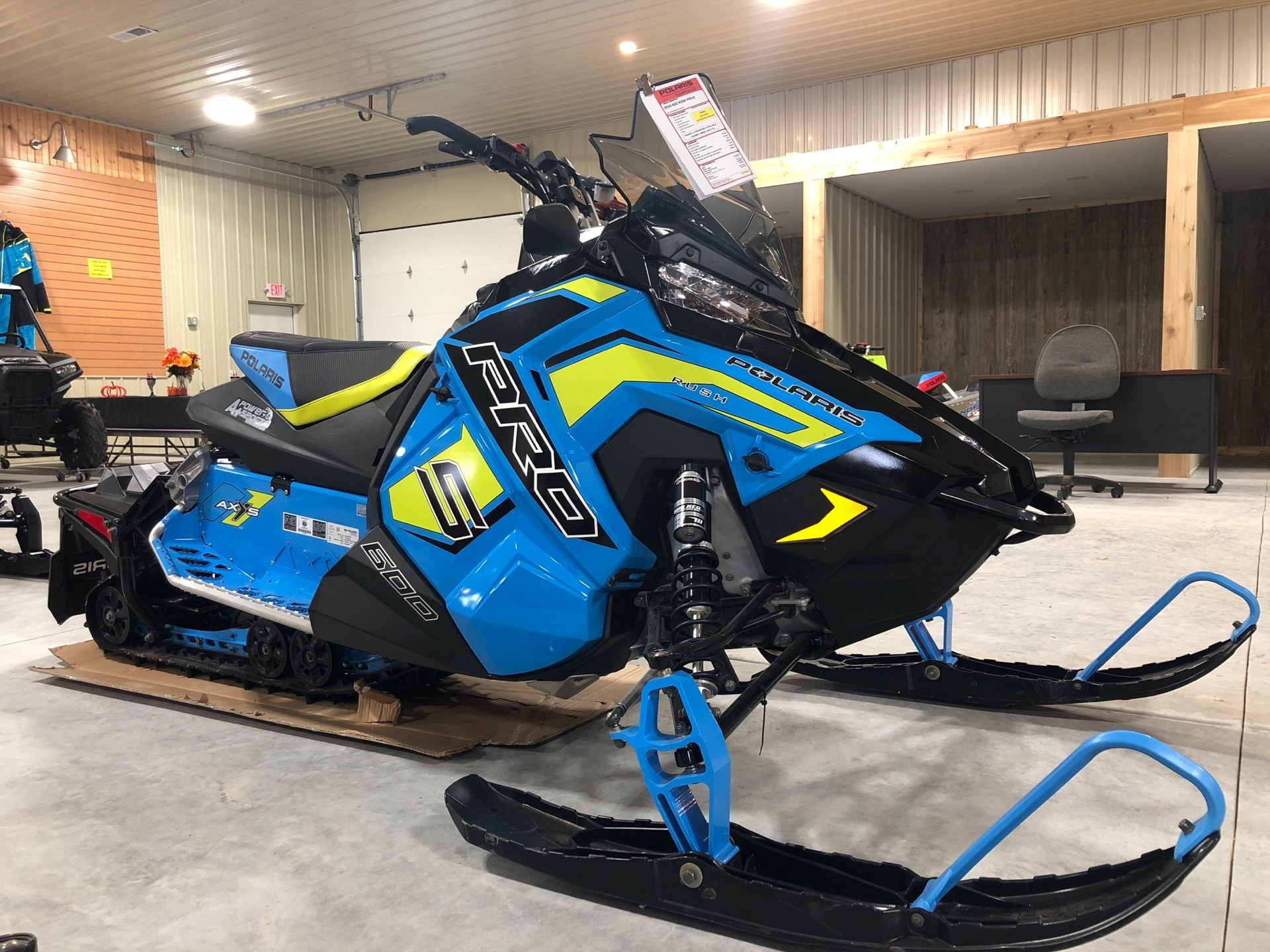 2019 Polaris 600 RUSH PRO-S 1.25 RIPSAW II SnowCheck Select in Elkhorn, Wisconsin - Photo 4