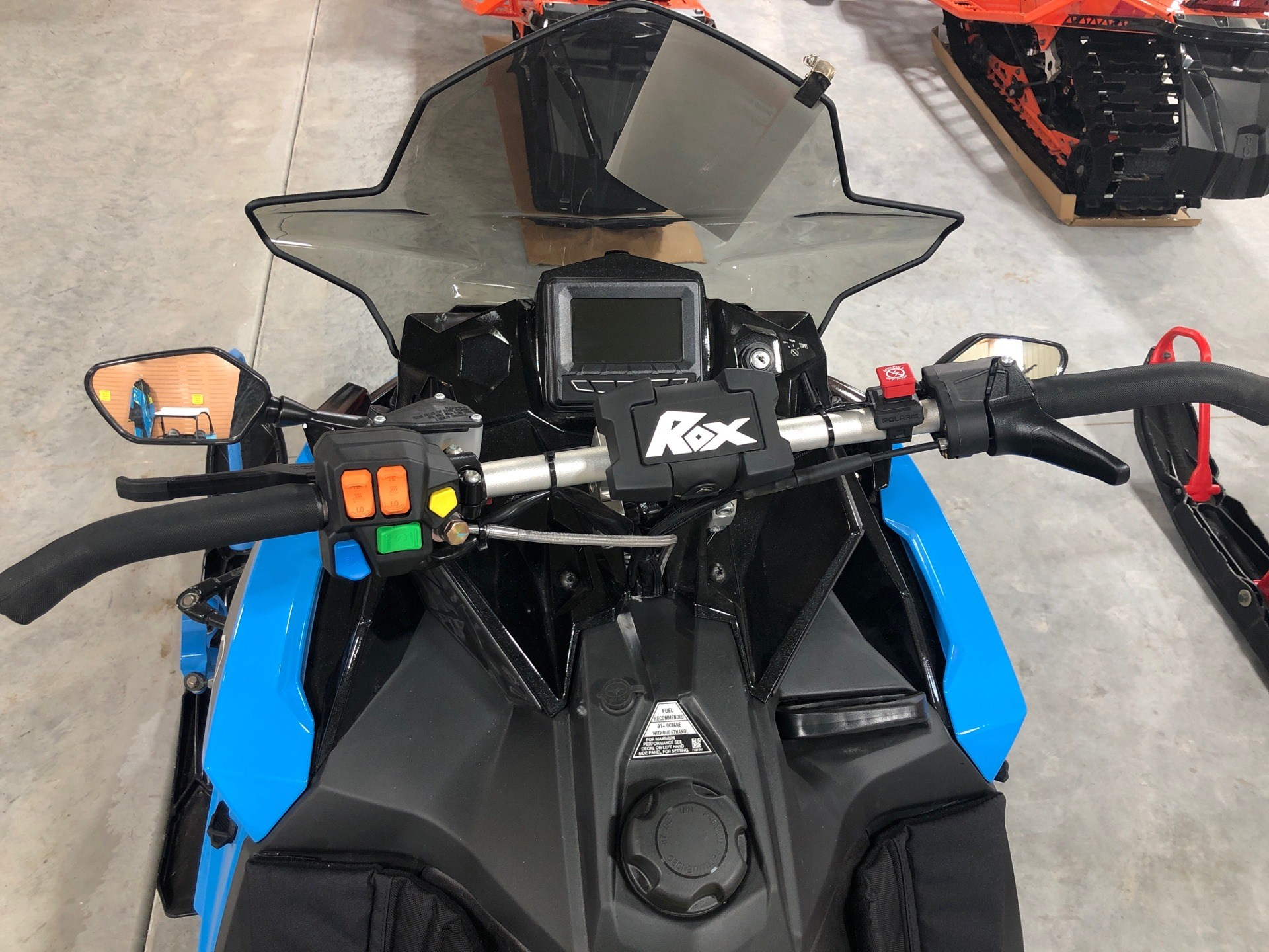 2019 Polaris 600 RUSH PRO-S 1.25 RIPSAW II SnowCheck Select in Elkhorn, Wisconsin - Photo 7