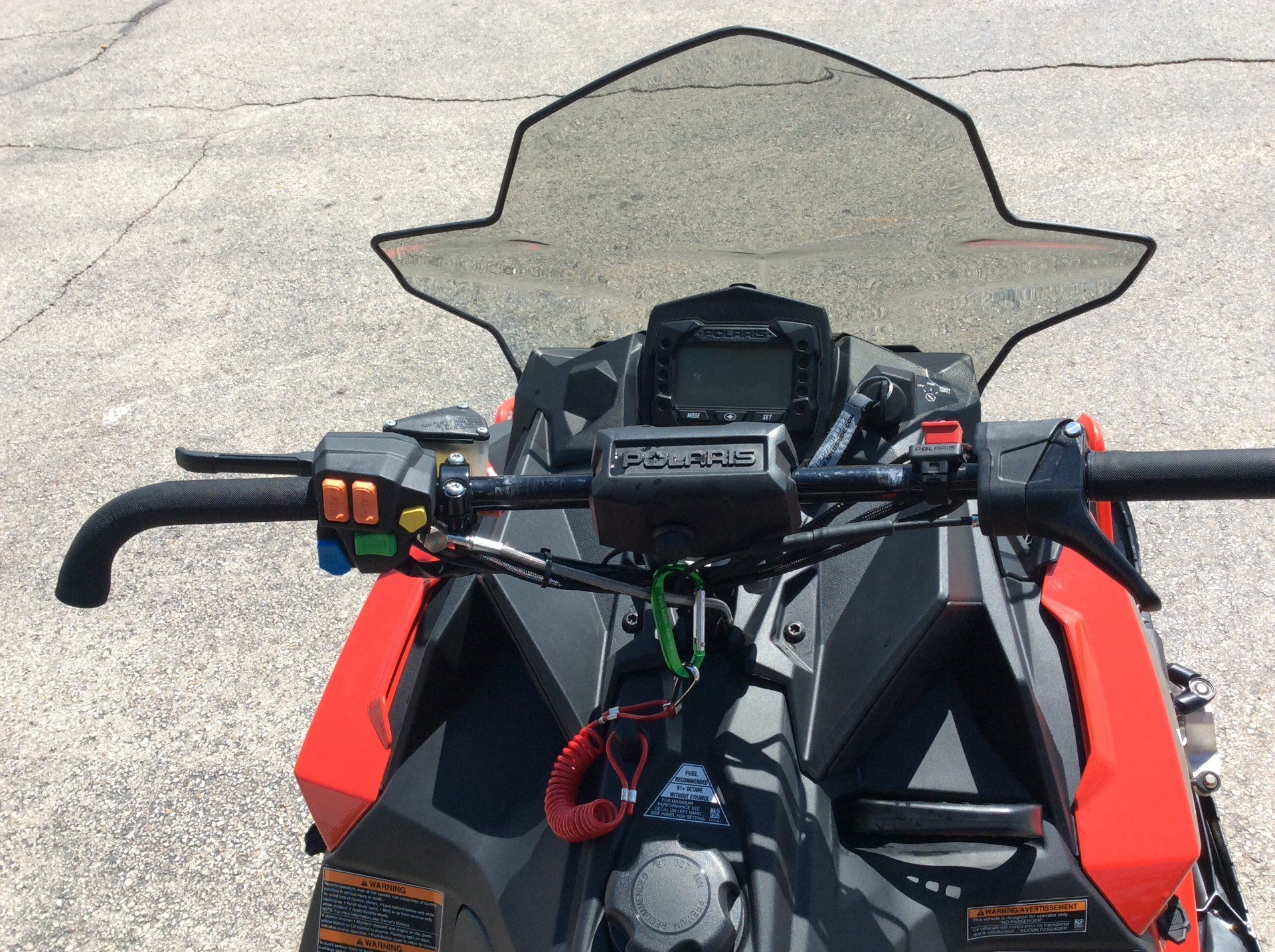 2017 Polaris 600 RUSH XCR in Elkhorn, Wisconsin