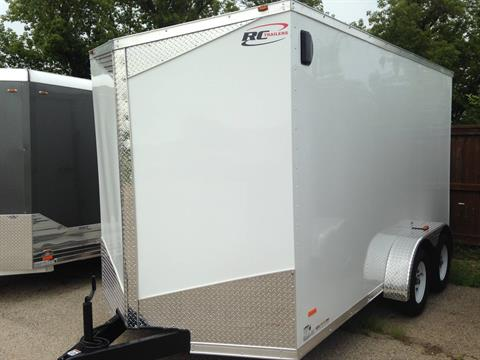 2017 RC TRAILERS RWT7X14 TA in Elkhorn, Wisconsin