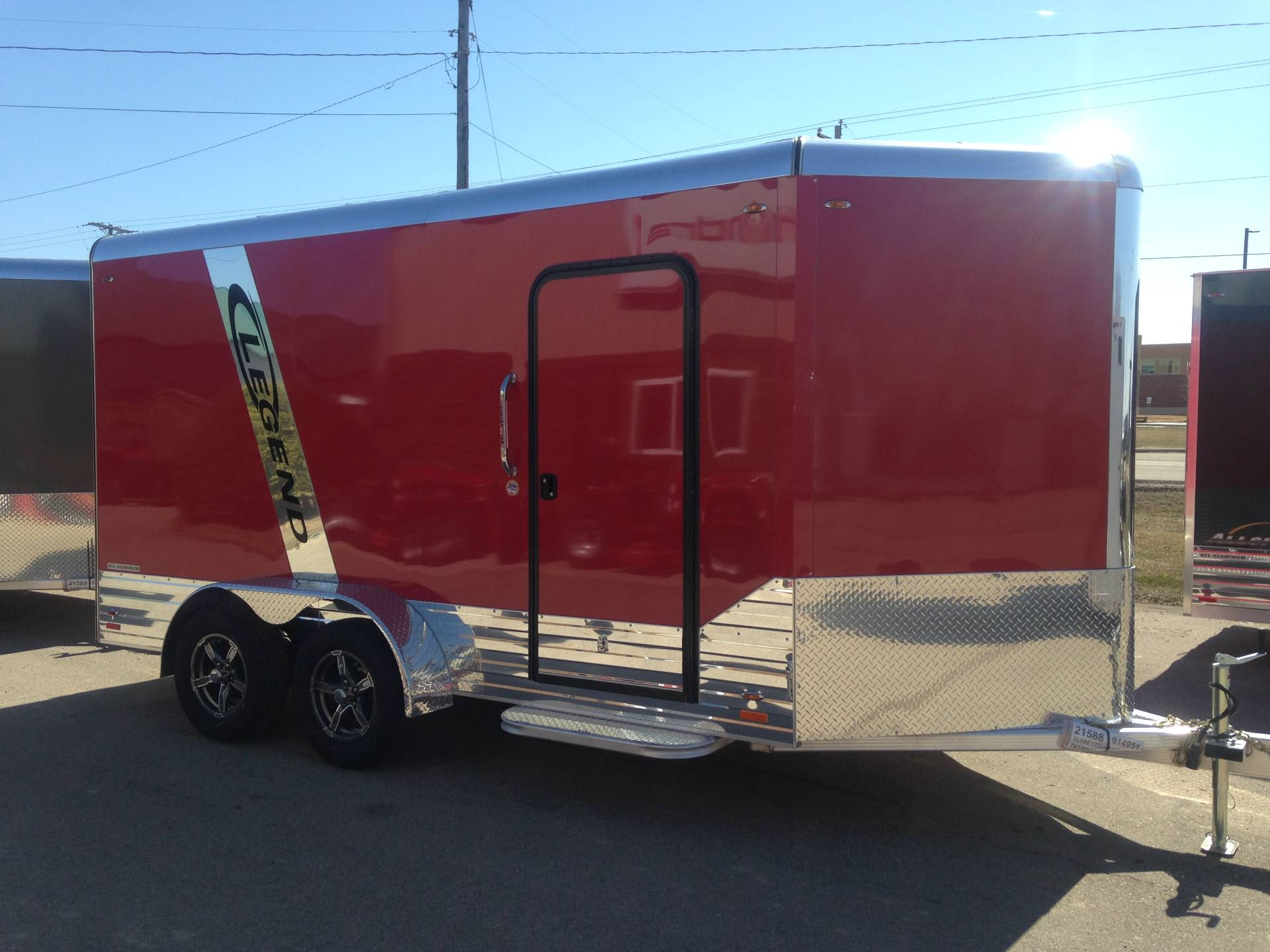 2019 Legend Trailers 7X17DVNTA35 in Elkhorn, Wisconsin - Photo 1