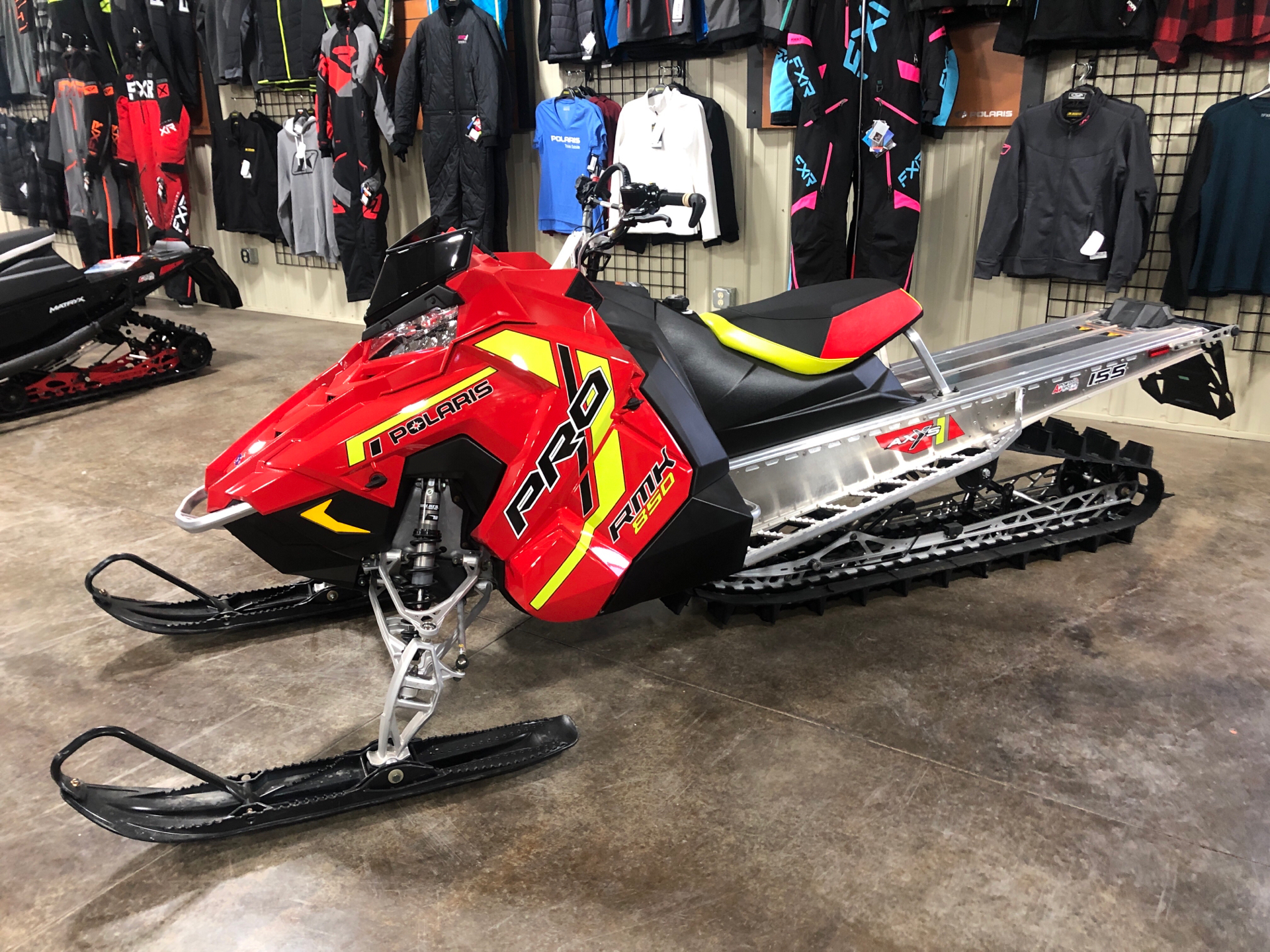 2021 Polaris 850 PRO RMK 155 2.6 in. Factory Choice in Elkhorn, Wisconsin - Photo 8