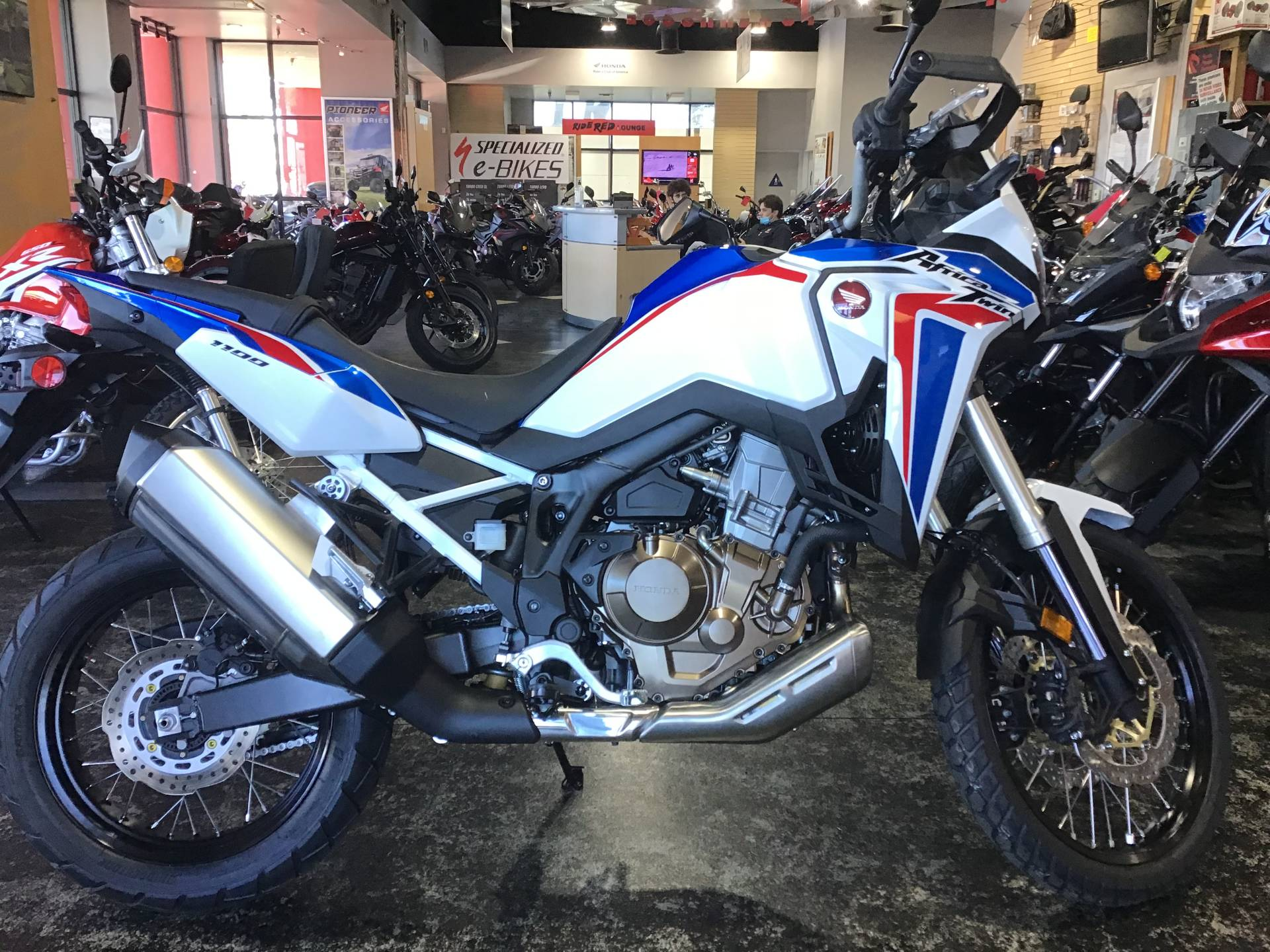 2021 Honda Africa Twin in Huntington Beach, California - Photo 1