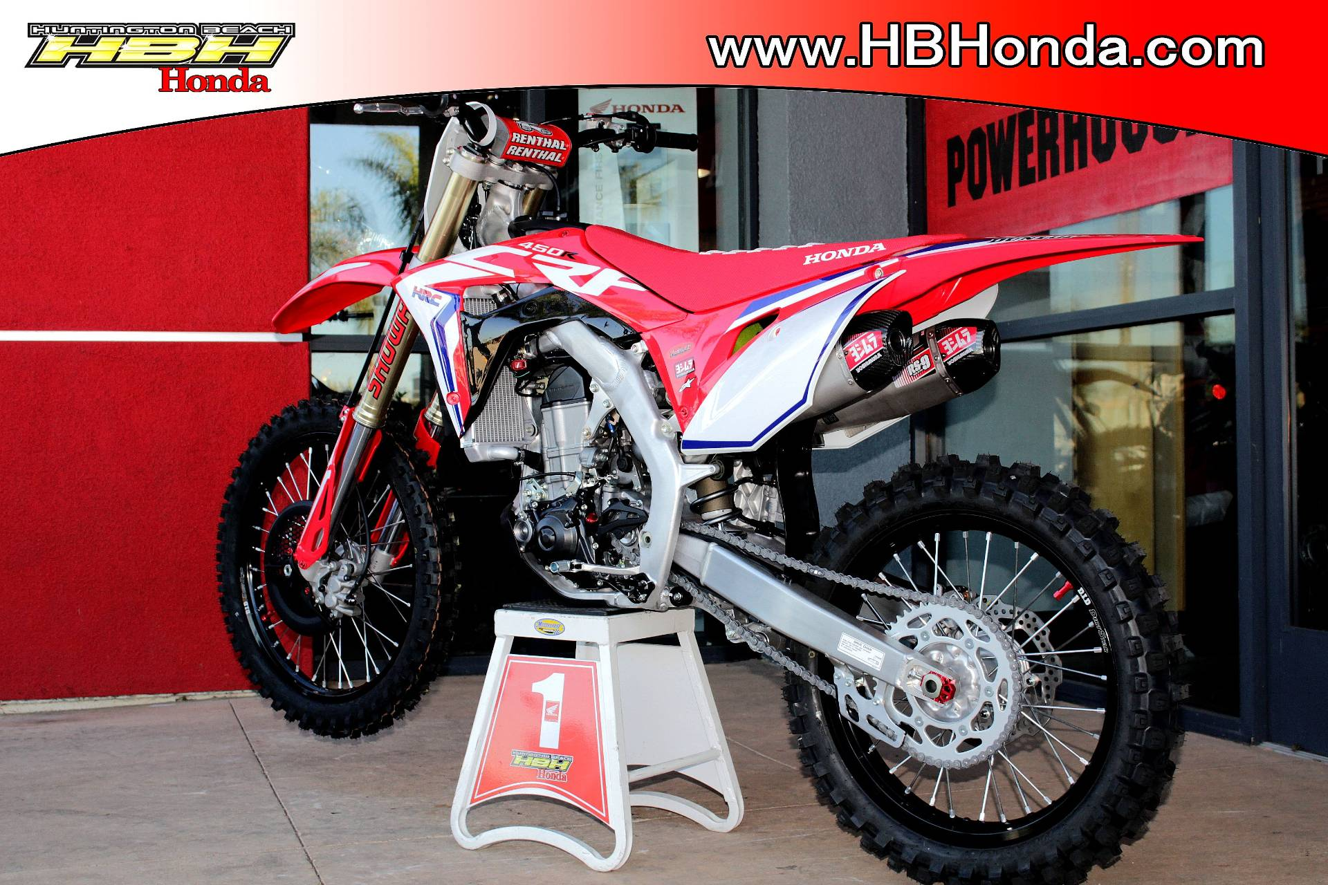 New 2019 Honda Crf450r Motorcycles For Sale In Huntington Beach Ca
