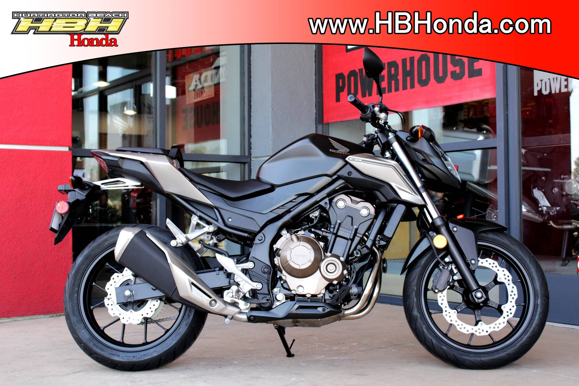 2016 Honda Cb500f In Huntington Beach California