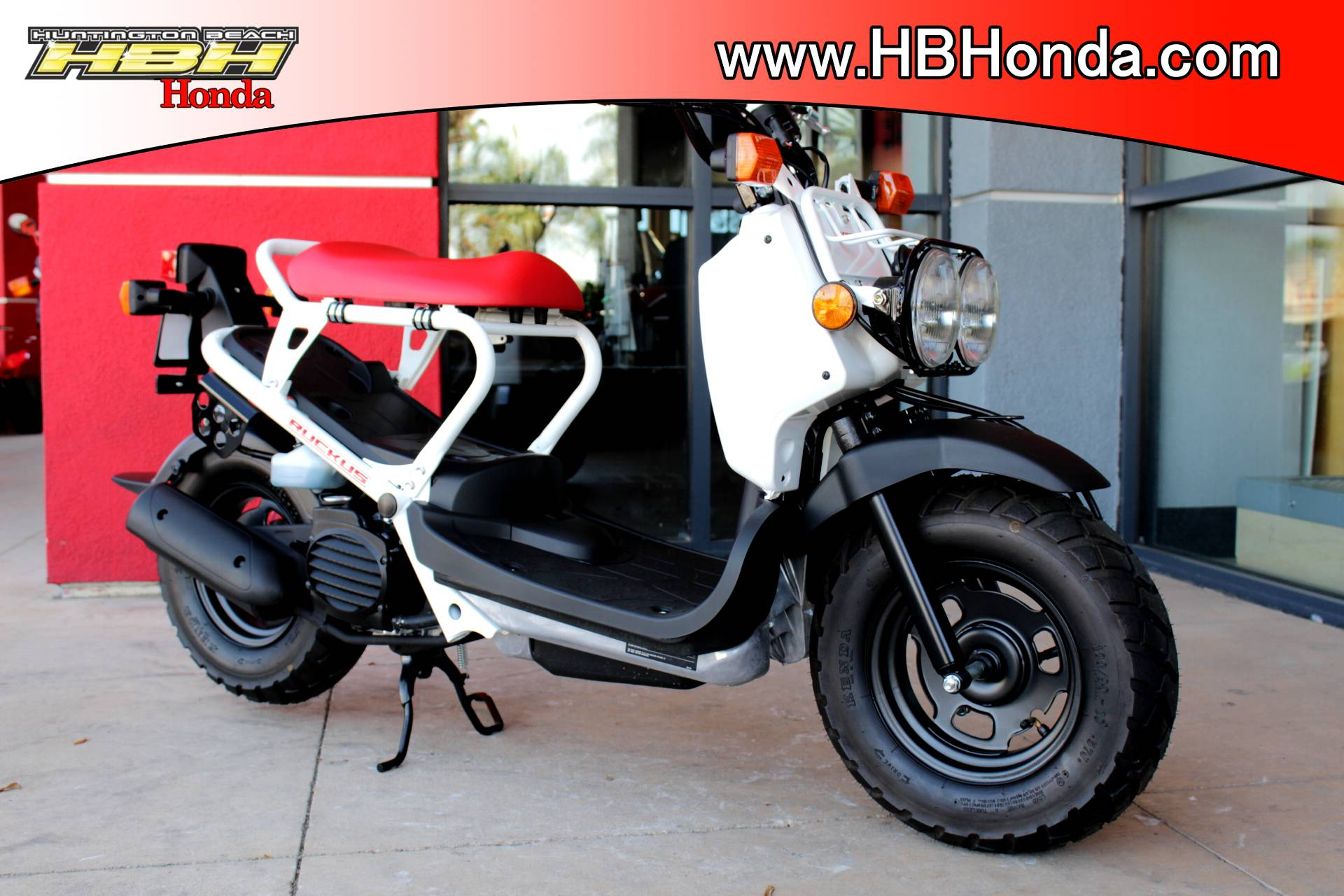 2018 Honda Ruckus in Huntington Beach, California