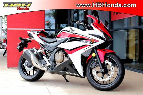 2018 Honda CBR500R ABS in Huntington Beach, California