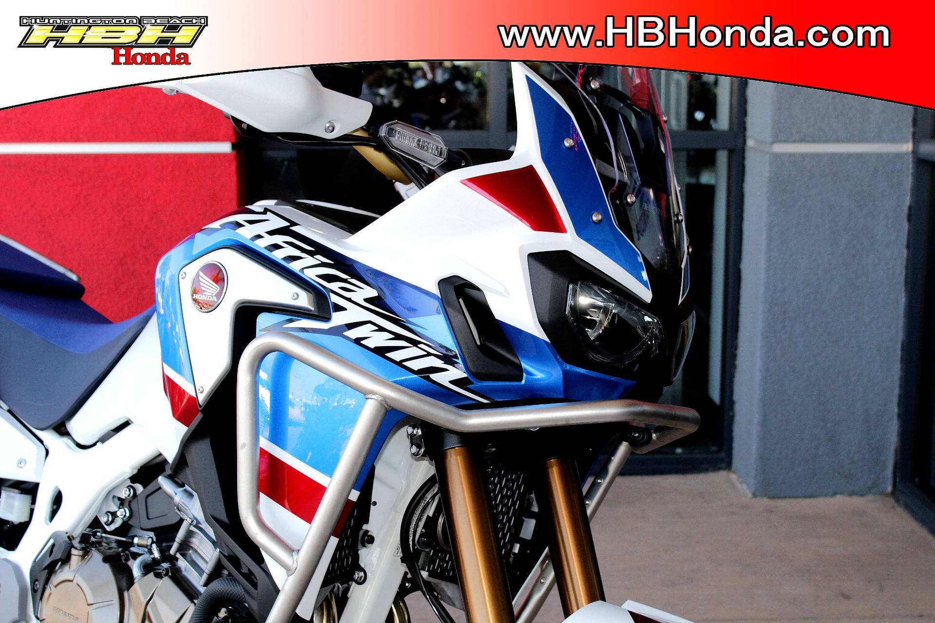 2018 Honda Africa Twin Adventure Sports in Huntington Beach, California