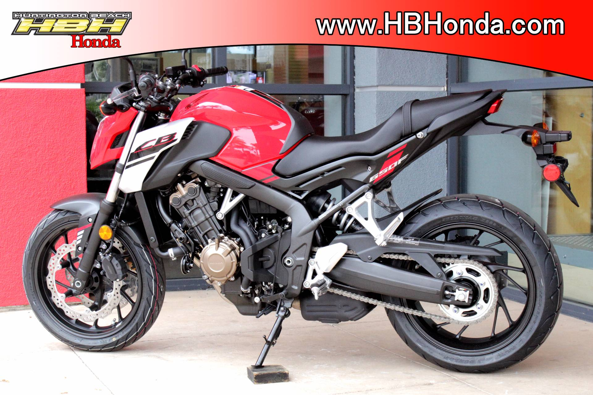 New 2018 Honda Cb650f Motorcycles For Sale In Huntington