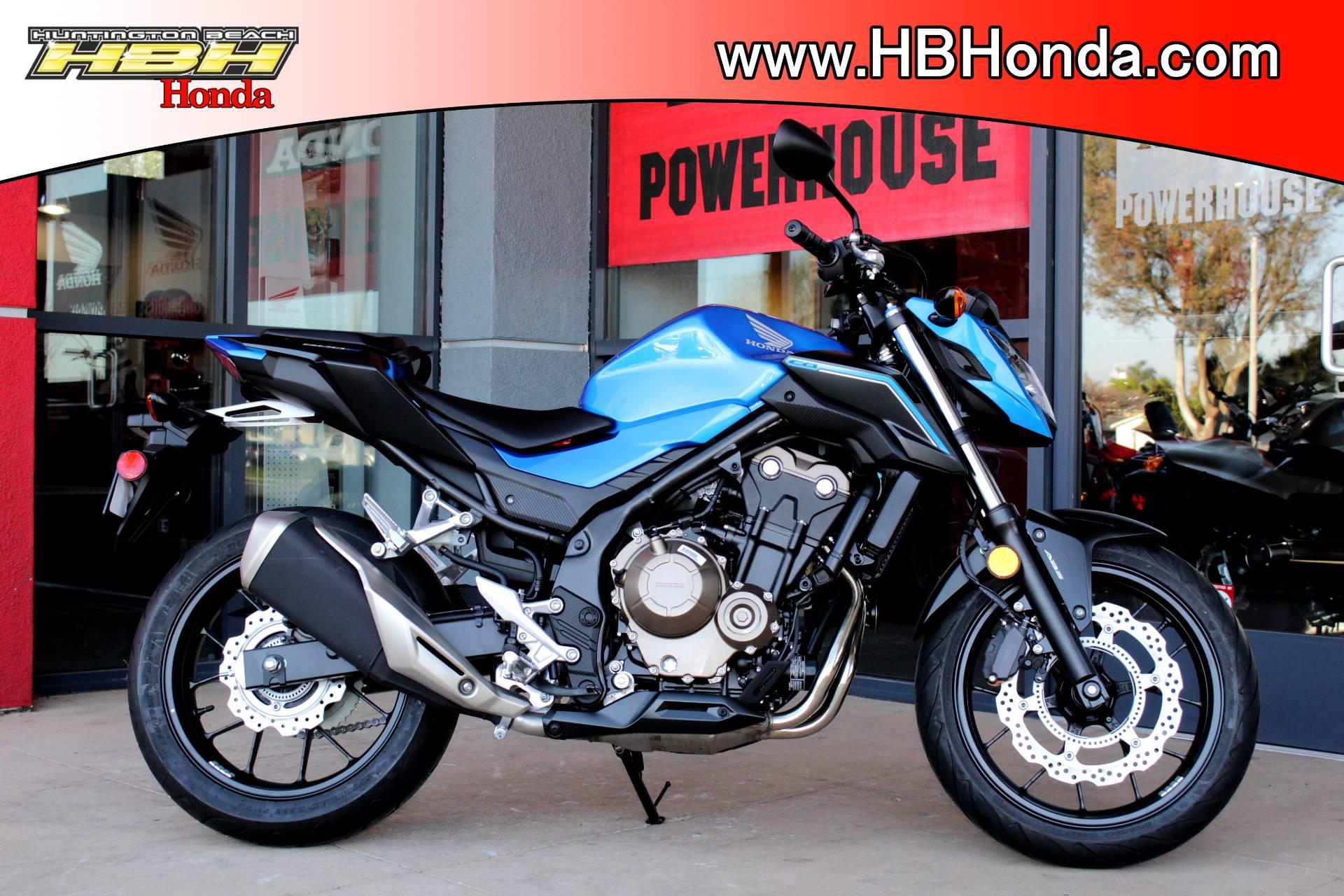 New 2018 Honda Cb500f Motorcycles For Sale In Huntington Beach Ca History California
