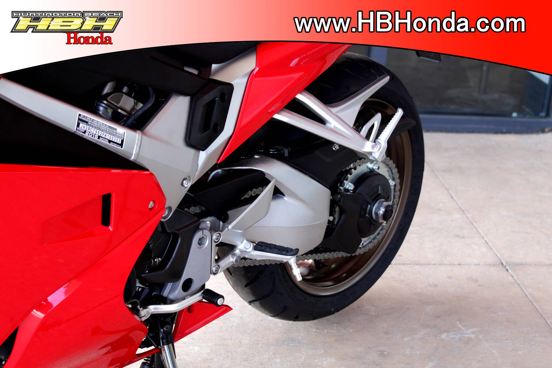 2015 Honda Interceptor® Deluxe in Huntington Beach, California - Photo 18