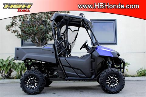 2017 Honda Pioneer 700 Deluxe in Huntington Beach, California