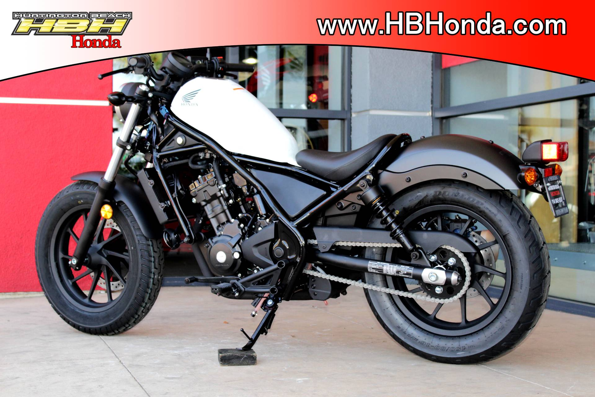 2017 Honda Rebel 300 in Huntington Beach, California