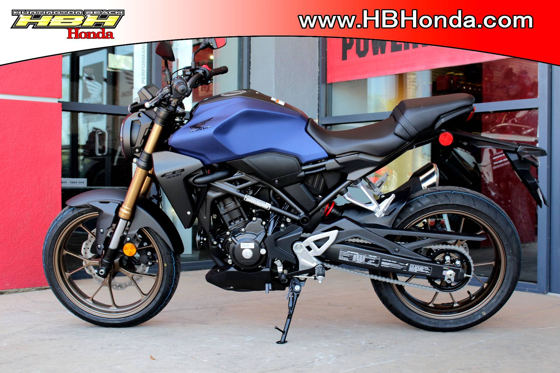 2021 Honda CB300R ABS in Huntington Beach, California - Photo 2