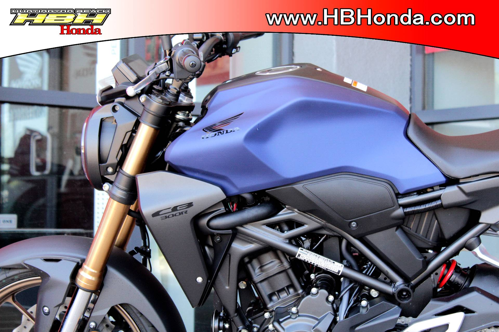 2021 Honda CB300R ABS in Huntington Beach, California - Photo 3