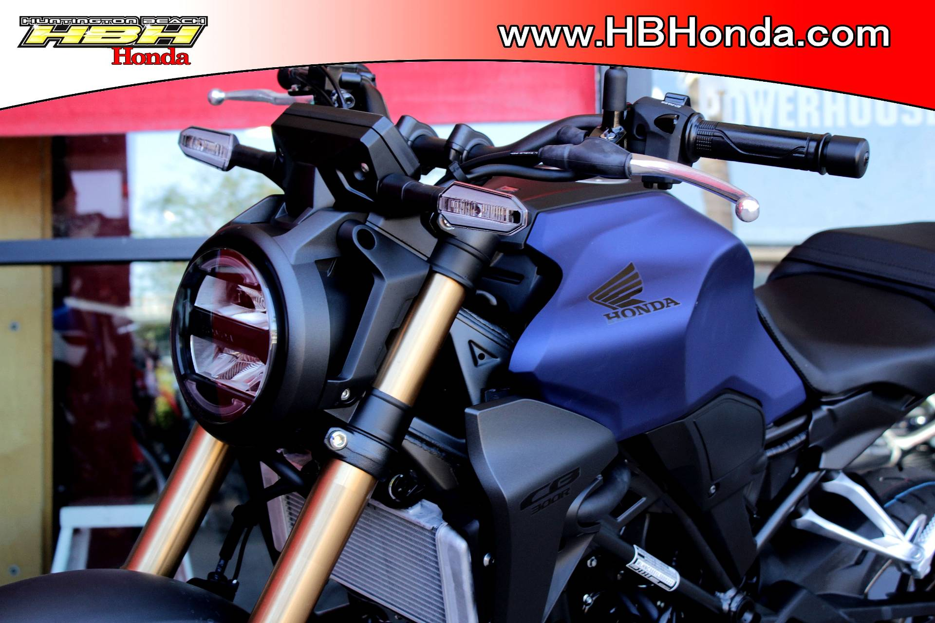 2021 Honda CB300R ABS in Huntington Beach, California - Photo 1