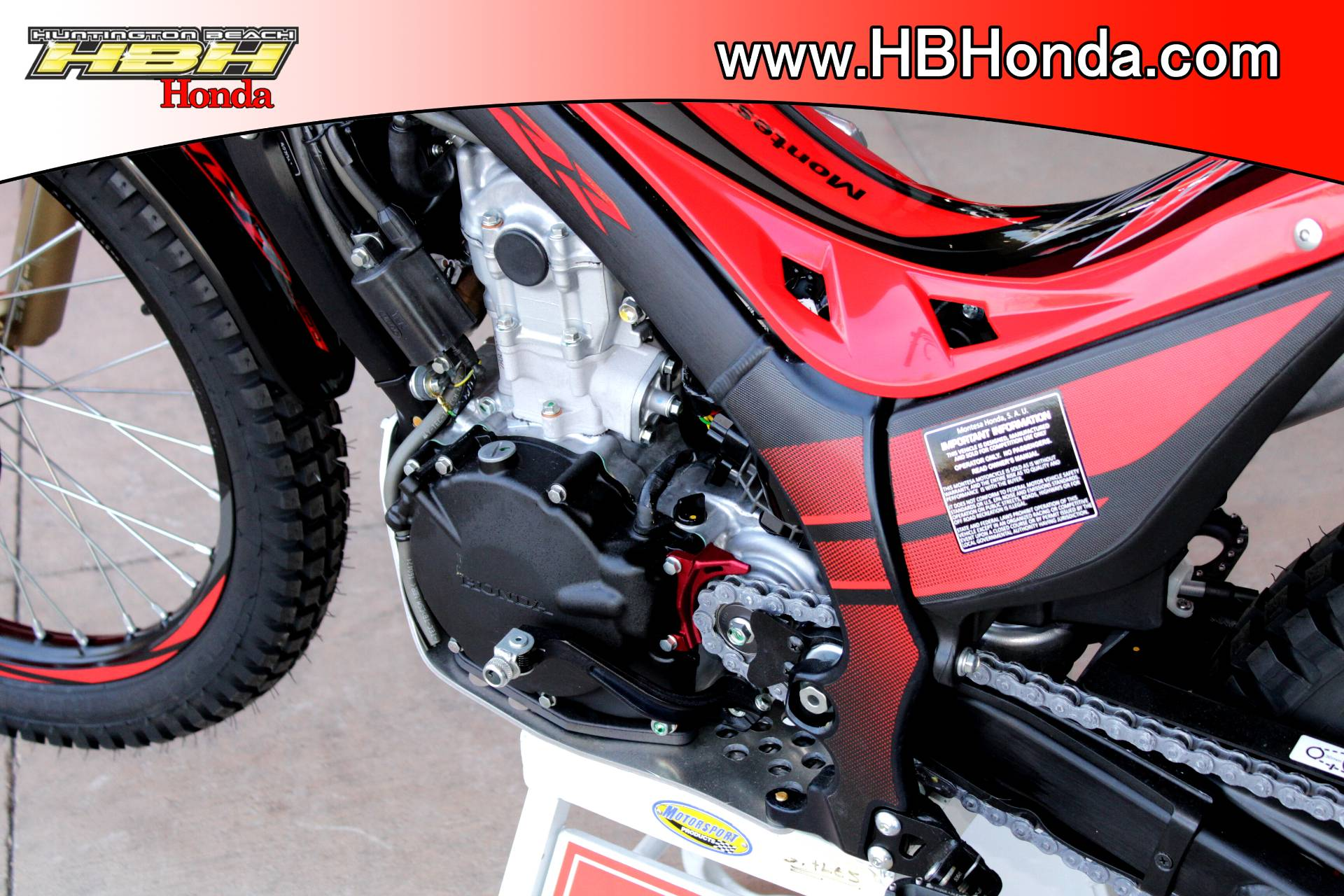 2017 Honda Montesa Cota 300RR (MRT300H) in Huntington Beach, California - Photo 10