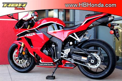 2017 Honda CBR600RR ABS in Huntington Beach, California