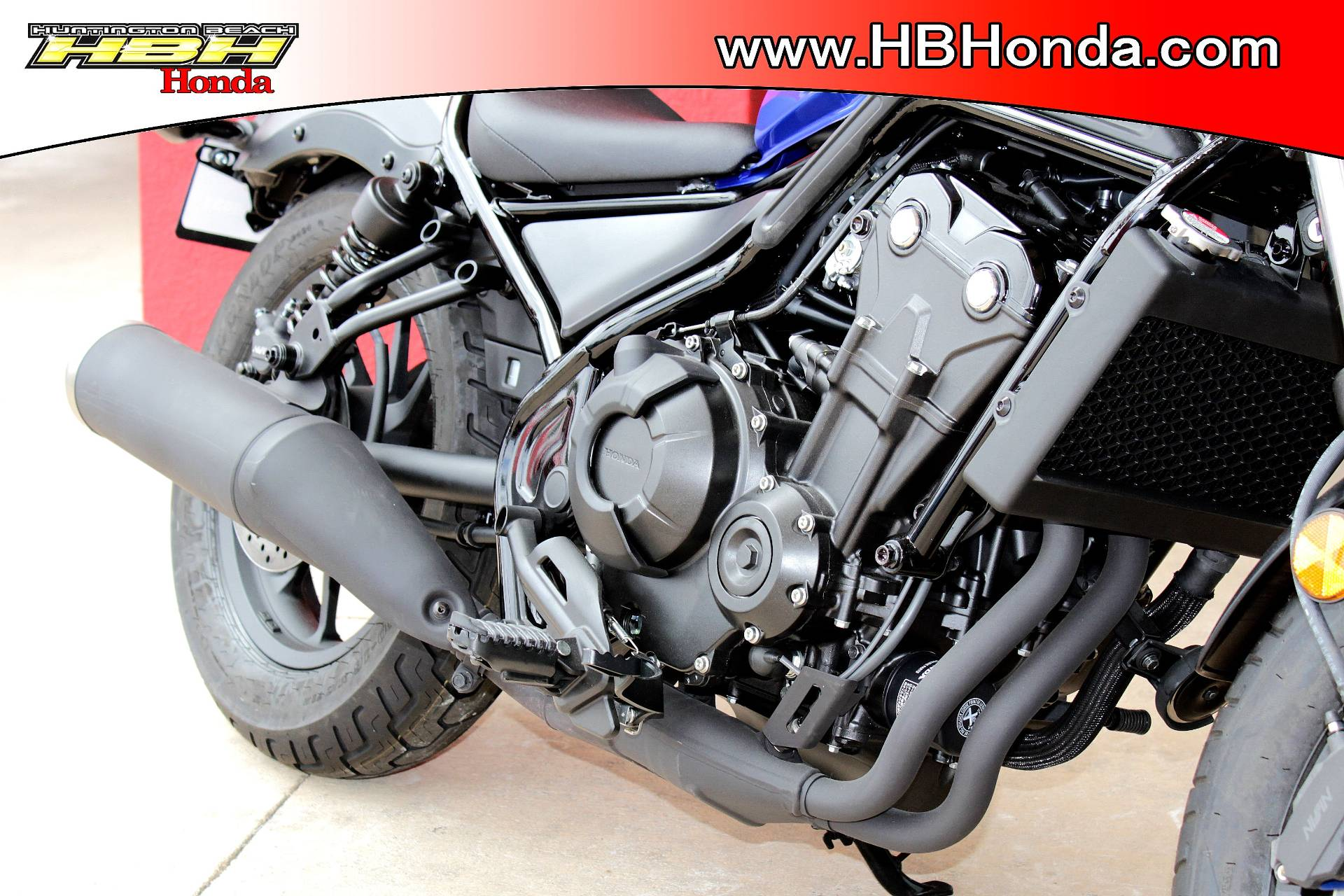 2018 Honda Rebel 500 in Huntington Beach, California